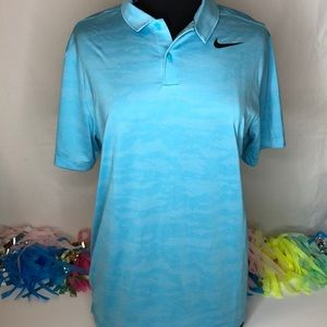 NWT Nike Men's Golf Polo Dri-Fit Athletic Shirt